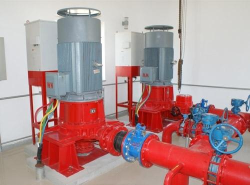 地面自灌式消防泵组